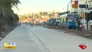 DER-ES decidiu trocar o tipo de pavimento, de asfalto para concreto, em um trecho da rodovia em Cariacica. Novo prazo de entrega é no fim de setembro, segundo órgão