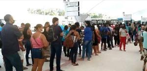 Após ficar interditado por mais de dois anos, o terminal rodoviário foi reinaugurado na última sexta-feira (22) com nova estrutura e voltou a operar nesta segunda-feira (25). Previsão é de que 35 mil passageiros circulem no local