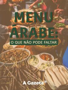 Para celebrar com a família ou amigos, que tal apostar em uma culinária aromática, cheia de especiarias, temperos, rica em grãos e carnes e extremamente saborosa? A seguir, dicas para seu menu árabe.