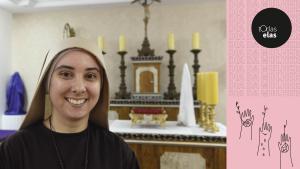 Máida do Coração de Jesus, 28 anos, abandonou a carreira para se tornar freira. Confira como é a rotina dela e o relato sobre as escolhas e renúncias que precisou fazer