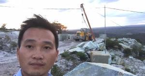 Li Jinlin, de 40 anos, foi morto neste sábado (23). Ele estava na Bahia analisando uma área a ser explorada para extração de granito