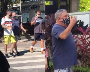 Eduardo Siqueira chamou guarda municipal de 'analfabeto' após receber multa por andar sem máscara de proteção obrigatória na pandemia