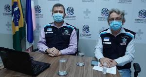 Em nova coletiva de imprensa, o secretário Nésio Fernandes vai atualizar informações sobre o enfrentamento à Covid-19 no Espírito Santo; veja