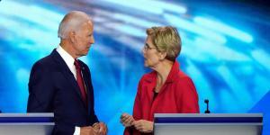 Biden, Warren Gain in Latest Poll of Democratic Primary Voters