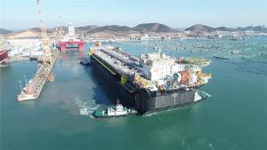 Casco do navio-plataforma P-71 chegou ao estaleiro em Aracruz no primeiro semestre do ano passado para finalização, mas projeto precisou passar por alterações para ser que embarcação seja instalada em outra área de produção