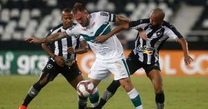 Botafogo foi beneficiado por dois erros do juiz Dewson Freitas e venceu o Coritiba pela Segundona