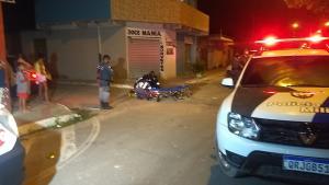 Os moradores do bairro João Goulart ficaram revoltados com o crime e agrediram o rapaz, que precisou de atendimento médico e foi levado para um hospital