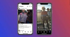 Na nova atualização do Instagram, dois perfis podem compartilhar a autoria de uma postagem no Feed ou vídeo do Reels
