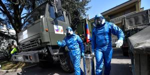 Russian Soldiers in Italy Contain the Coronavirus and Mark a Political Shift