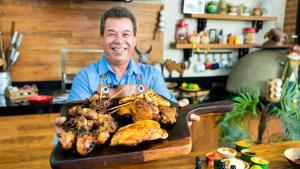 Com receitas, dicas e curiosidades sobre churrasco, o programa comandado por José Almiro de Morais estreia no dia 8 de maio