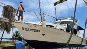 A vítima foi identificada como Jose Claudio de Sousa Vieira; o corpo dele foi visualizado por um barco pesqueiro cerca de 35 quilômetros a sudeste do Farol de Cabo Frio na terça-feira (9)
