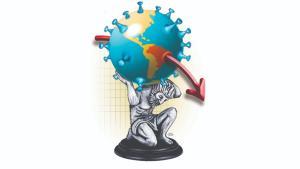 Dados do IBGE mostram que projeções do FMI de que PIB do Brasil passaria de US$ 1,8 trilhão para US$ 1,4 trilhão até o fim do ano passado se confirmaram