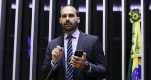 'Eu queria ser tão poderoso como falam que eu sou', disse o deputado, que está em viagem a Israel com uma comitiva do governo brasileiro
