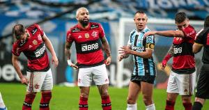 Dirigentes do Flamengo insistem em jogar com a presença de público no jogo de volta da Copa do Brasil contra o Grêmio, desrespeitando a igualdade esportiva na competição