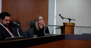 Maria Claudia Bucchianeri se tornou a favorita ao cargo após receber apoio público da Associação Nacional dos Juristas Evangélicos (Anajure) no dia 1° de junho