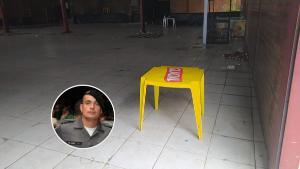Romário Costa Ramos foi baleado durante uma festa que acontecia em um cerimonial, em Ecoporanga, no Noroeste do Espírito Santo. O suspeito do crime é o soldado da Polícia Militar Olinto Marcial Jardim Junior