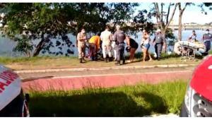 De acordo com informações preliminares da Guarda Municipal de Cariacica, equipes do Corpo de Bombeiros e da Polícia Militar atuam na ocorrência