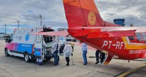 Espírito Santo começou a receber nesta quarta-feira (3) pacientes infectados pela Covid-19 de Santa Catarina, devido ao colapso do sistema de saúdo do Estado da Região Sul do país