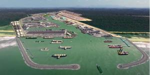 Outras empresas também negociam realização de operação de transbordo a partir de terminal de líquidos, previsto para entrar em operação no segundo semestre de 2024. Obras do porto no Sul do ES podem começar neste ano