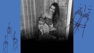 Bebê faleceu de morte súbita, de acordo com familiares de Luana. O pai da criança é o ex-namorado da jovem, que foi preso por suspeita de feminicídio