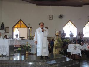Frei Raimundo Nonato trabalhou por seis anos em Muqui, no Sul do Estado, e na Igreja Santa Rita, em Vitória; ele fazia parte do grupo de risco
