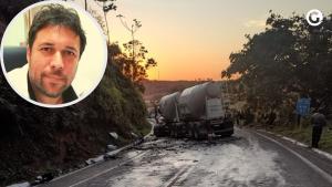 Renato Mataveli era médico intensivista e plantonista na UTI da Santa Casa de Misericórdia de Guaçuí. Ele morreu em um acidente na noite desta terça (10)