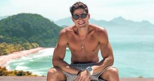 Modelo quer comprar apartamento em Vitória e lançar projeto turístico no Espírito Santo. Ex-brother do BBB 13 está no Estado desde dezembro do ano passado; veja vídeo