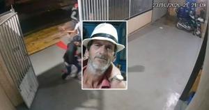 Câmeras registraram a ação de dois criminosos, mas polícia diz que identificou três suspeitos. Josias dos Passos Lírio, de 53 anos, foi morto mesmo após se render durante assalto a uma distribuidora de bebidas na Serra na noite de sexta-feira (23)