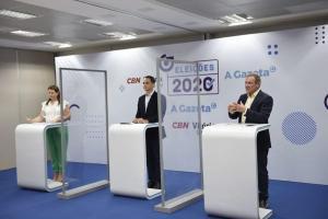 Delegado Pazolini (Republicanos) e João Coser (PT) disputam o segundo turno. As propostas foram protagonistas do confronto direto entre eles, na Rede Gazeta. Mas também houve críticas