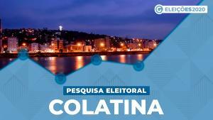 O ex-prefeito aparece com 36% das intenções de voto. Em seguida, estão Luciano Merlo (Patriota), com 14%, e Maricélis (Cidadania), com 11%. empatados tecnicamente