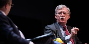 John Bolton Won't Discuss Trump and Ukraine in Public Appearance