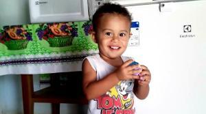 João Pedro Ferreira Costa, de 1 ano e 10 meses, segue internado no Hospital Infantil de Vitória, mas teve uma evolução nesta sexta-feira (5). Ele foi picado quando estava em casa, na zona rural do munícipio
