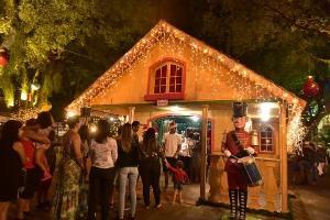 O espaço terá apenas enfeites de Natal para evitar aglomerações, seguindo as recomendações das entidades de saúde