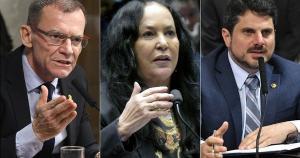 Parlamentares não aprovam as ameaças feitas pelo presidente a um senador e a ministros do STF, mas divergem quanto à necessidade de incluir governadores e prefeitos na CPI da Covid