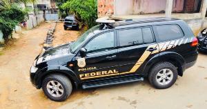 A Operação Abutre foi deflagrada pela Polícia Federal em um bairro de Cariacica na manhã desta segunda-feira (18)