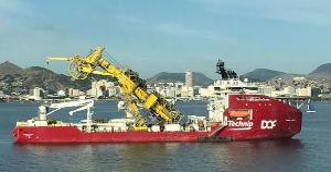 As embarcações Skandi Búzios e Pardela estão atracadas na região do Porto de Vitória, a primeira sem casos confirmados e a segunda com um positivado para a doença