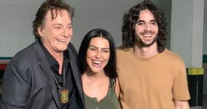 Filha de Gloria Pires e Fábio Jr foi falar sobre o desempenho do irmão, Fiuk, nas primeiras horas de reality da Globo pela internet