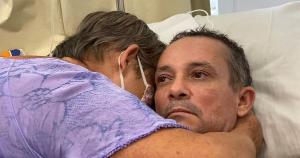 Reaproximação entre Silvano Ote Aguiar e sua mãe, Marly Ote, aconteceu após investigação da identidade do homem, que chegou ao hospital após um acidente no dia 4 de janeiro