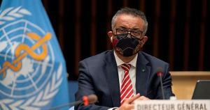 Diretor-geral da OMS, Tedros Adhanom Ghebreyesus, pediu vontade política para intensificar a produção de vacinas contra Covid-19 e compartilhar suprimentos