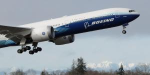 Boeing 777X Starts Maiden Flight