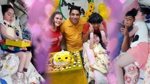 Portadora de uma doença grave, Anna Isabeli Reinholz Lima foi desinternada nesta sexta-feira (23). Com doações, a família conseguiu reformar a casa para recebê-la