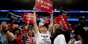 Trump's Rallies Aren't Just Part of His Campaign. They Are the Campaign.