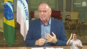 Governador comentou sobre o atual cenário da pandemia nesta sexta-feira (27); veja quais foram os principais pontos abordados por ele