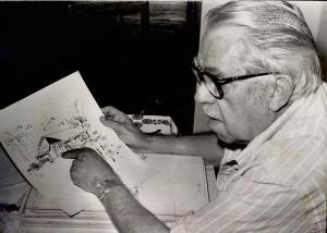 Página reúne recortes de jornais, áudios e transcrições de textos de 13 autores consagrados, incluindo Rubem Braga (1913-1990) e José Carlos Oliveira (1934-1986)