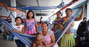 Etnia indígena venezuelana está no Brasil há aproximadamente três anos, em situação de refúgio, e há alguns dias também está no Espírito Santo