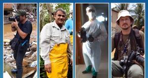 Neste 2 de setembro, os fotógrafos de A Gazeta Vitor Jubini, Fernando Madeira, Ricardo Medeiros e Carlos Alberto Silva relatam as coberturas importantes que fizeram