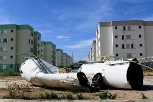 Outros 25 apartamentos continuam interditados. Fim da reconstrução está previsto para fevereiro