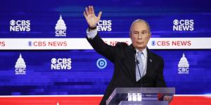 Bloomberg's Second Debate: Steadier, but Still Bumpy