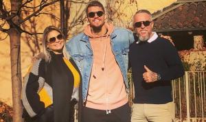 Empresário Marcelo Vojnović mora com a esposa Carla a 15 minutos da casa do defensor, mas está impedido de sair de casa por conta das restrições em Turim