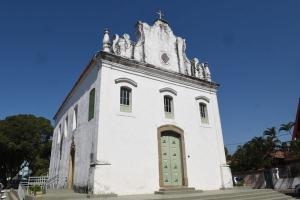 A Igreja de Nossa Senhora do Rosário é a matriz das 17 paróquias de Vila Velha, a secular e mais antiga igreja em funcionamento do Brasil